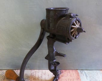 Vintage 'Russwin' No1 Meat Grinder or Mincer Vintage Kitchen Kitchenalia