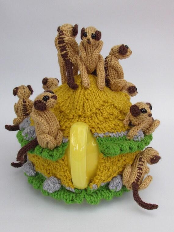 Meerkat Tea Cosy Knitting Pattern from TeaCosyFolk on Etsy ...