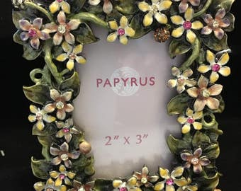 Lovely Floral Papyrus small frame