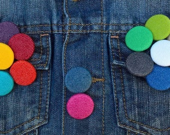 Jean button