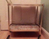 Vintage Trolley  Vintage Home   Cocktail Trolley  Hostess  Bar Cart  MadMen