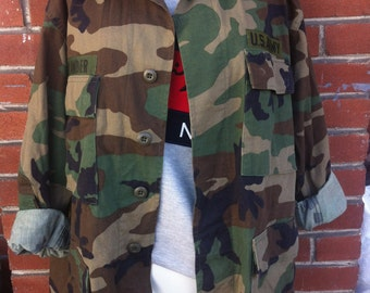 army jacket Large