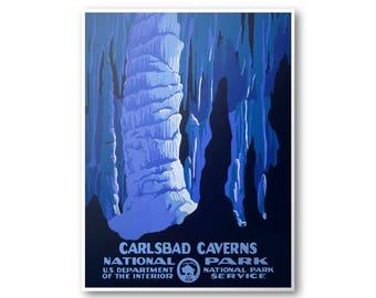 Carlsbad Caverns National Park Poster