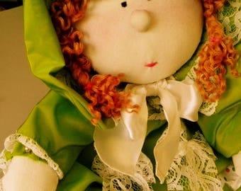 Handmade Art Doll  Elli