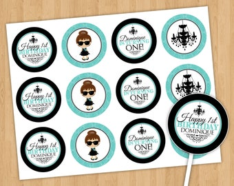 Chic and Fabulous Cupcake Toppers