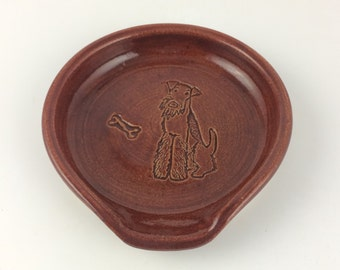 Airedale Terrier Spoon Rest