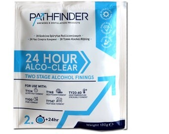 Pathfinder Alco clear  2 part  Wine Finings Treat 23L Hone brew Winemaking