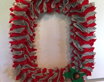 The Ohio State University  Block O Wreath - Two Color