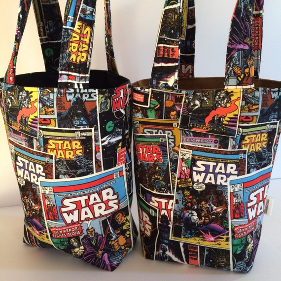 Star Wars Birthday Bags Star Wars Tote Reusable Gift Bags
