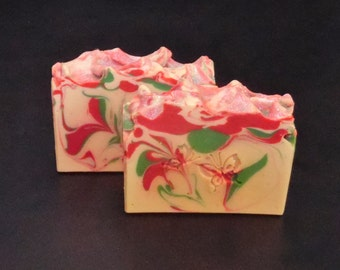 Apple Jack And Peel Soap, Handmade Soap, Cold Process Soap, Handcrafted Soap, Natural Soap, Artisan Soap, Bar Soap, Homemade Soap