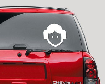 Star Wars, Lego, Princess Leia decal