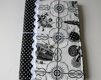 Fabric Book Cover, perfect gift,