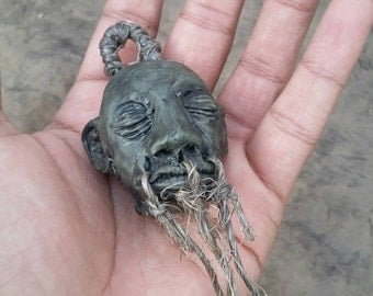 Shrunken Head / Voodoo item / Made for order