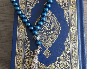 Gift package Small pocket quran with tasbih | Arabic Quran | Muslim gift | Eid gift | Prayer beads | Muslim Gift package