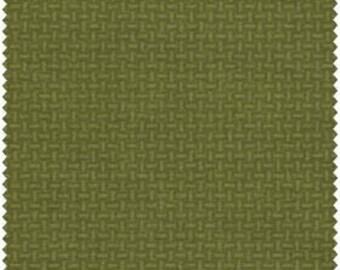 Woolies Flannel by Bonnie Sullivan - Light Green Basketweave (18128-G2)