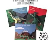 Dinosaur Valentine Card K...