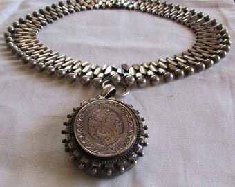 Sterling Silver Out of The Ordinary Necklace with Removable Locket