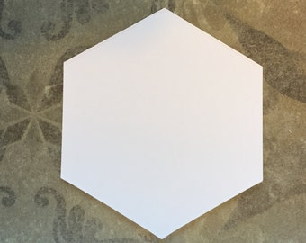 """1 1/2""""Hexagons for English Paper Piecing by All Quilty Choose Package Size"""
