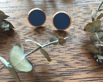 Periwinkle Blue Clay Studs