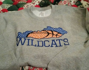 Kentucky Crew Neck Sweatshirt, Ky Sweatshirt,