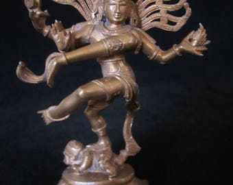 Shiva Nataraja Deity Statue - iconic image in Hindu statuary. Represents Indian tradition, cosmic principles, crushing out world negativity!