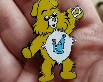 DAB Bears LE100 DreamTeamFam X Phat Pins enamel pin