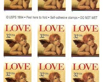 32 cent Love Postage Stamp Booklet - 1996 - Cupid - Cherub