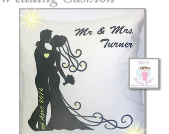 Wedding Cushion - Personalised