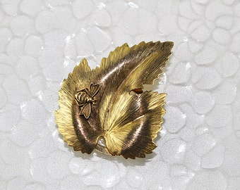 Vintage Scarf Clip with Bumble Bee, JW228