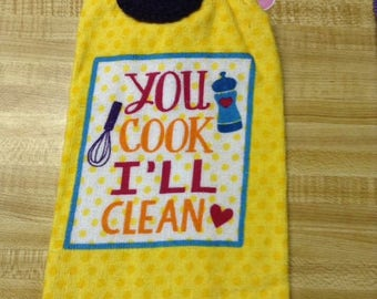 Crochet Kitchen Oven Towel