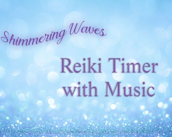 Reiki Timer - 26 x 3 Minute Reiki Timer with Relaxing Music - Audio Instant Download