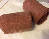 Winingas - Viking - Norse - Anglo-Saxon Leg Wraps brick brown
