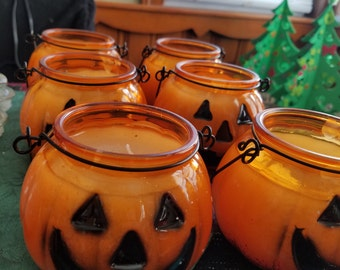 Handmade Pumpkin Spice Candles!!