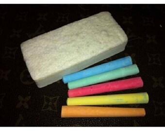 Fixture Displays® Chalk, Assort Color 12pk w/ Eraser 10235-Chalk