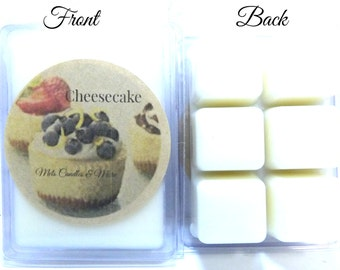 Cheesecake - 3.2oz Pack of Soy Wax Tarts - Wax Scented Melts