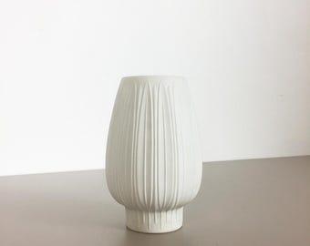original 70s OP art Vase porcelain german VASE made by Heinrich Selb, Bavaria | BISQUIT Space Age Op Art | midcentury modern | danish modern
