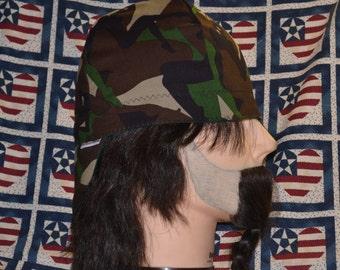 Handmade High Quality Camo Women Silhouette Reversible Welders Caps