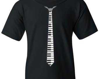Piano Tie Youth T-Shirt