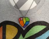 LGBT Ally Necklace - Hidd...