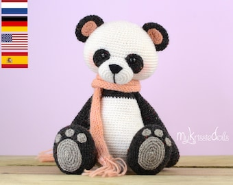 Crochet Pattern - My Little Panda Bear