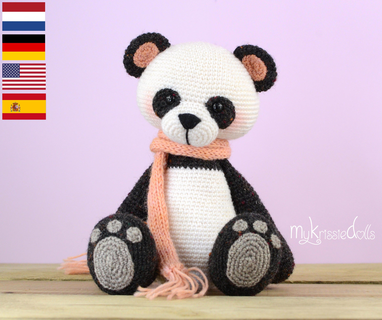 Crochet Pattern - My Little Panda Bear from MyKrissieDolls ...