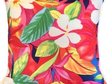 Cushion Tropical Pink Cushions Pillow Sham Euro Coastal Island Home Decor