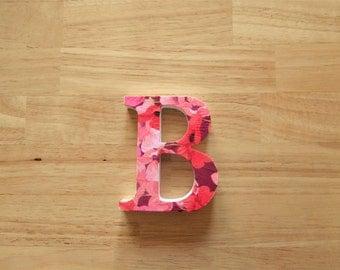 B is for Brenda - Decoupaged wooden letter