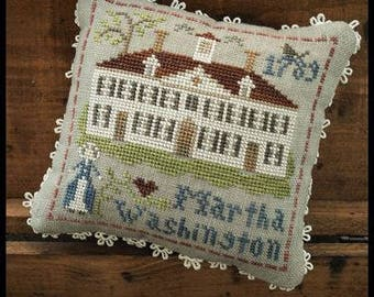 """LITTLE HOUSE NEEDLEWORKS """"Early Americans-#3 Martha Washington"""" 