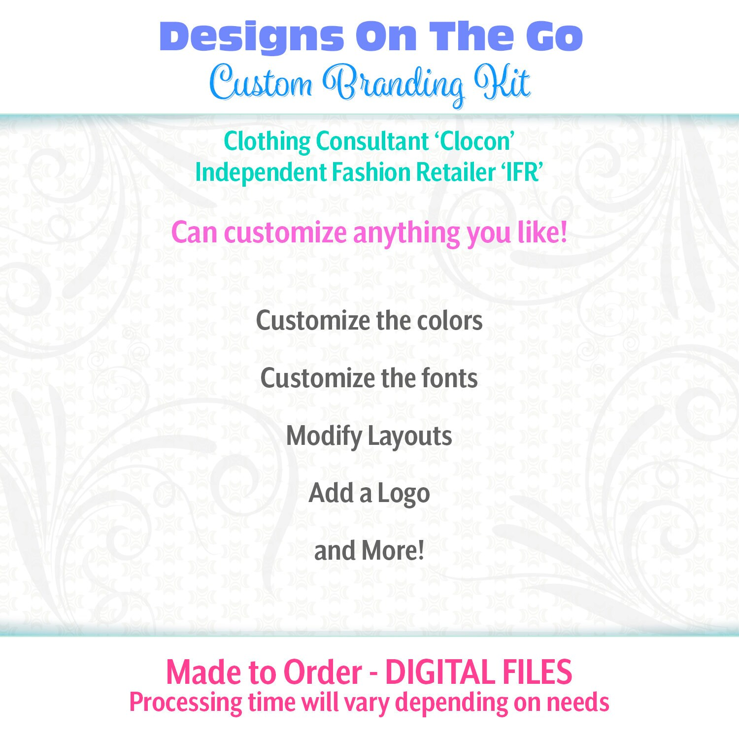Hearts a whirl branding kit clocon ifr made to order marketing 500 magicingreecefo Choice Image