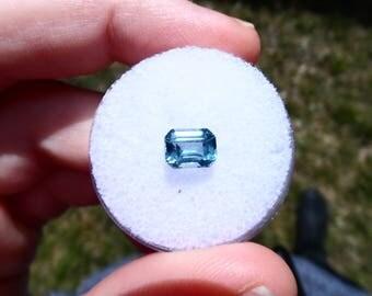 1.26ct All natural stunning blue Montana sapphire