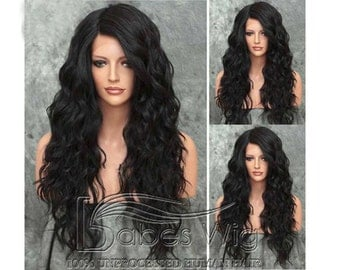 Human Hair Lace Front Wigs Black hair with Best Lace for Black Women Free Shipping