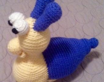 Stuffed Snail Etsy