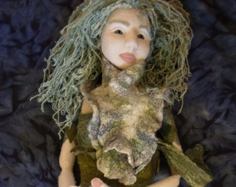 Felted Mermaid Puppet
