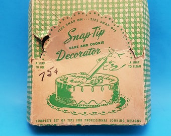 Vintage Bar Kay Snap Tip Cake and Cookie Decorator